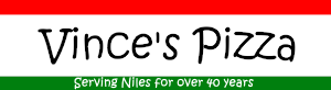 Vince's Pizza Niles Logo