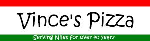 Vince's Pizza Niles Logo